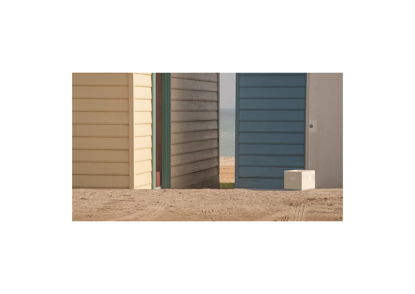 Beach study 7. 2020, archival pigment print, 15 x 27 cm